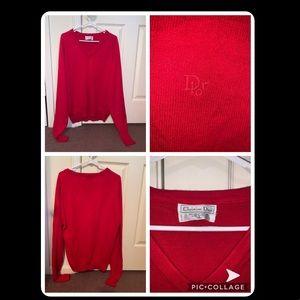 Men's Christian Dior Vintage Sweater XL